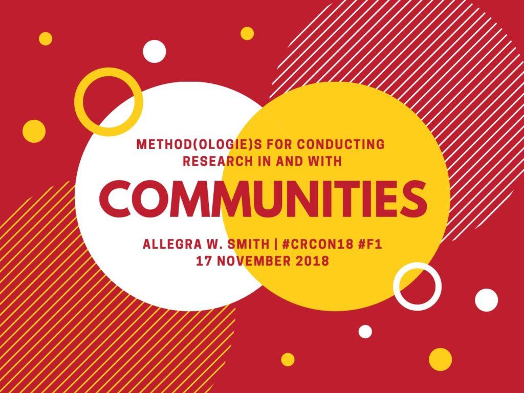 Title Slide for Cultural Rhetorics Conference Presentation