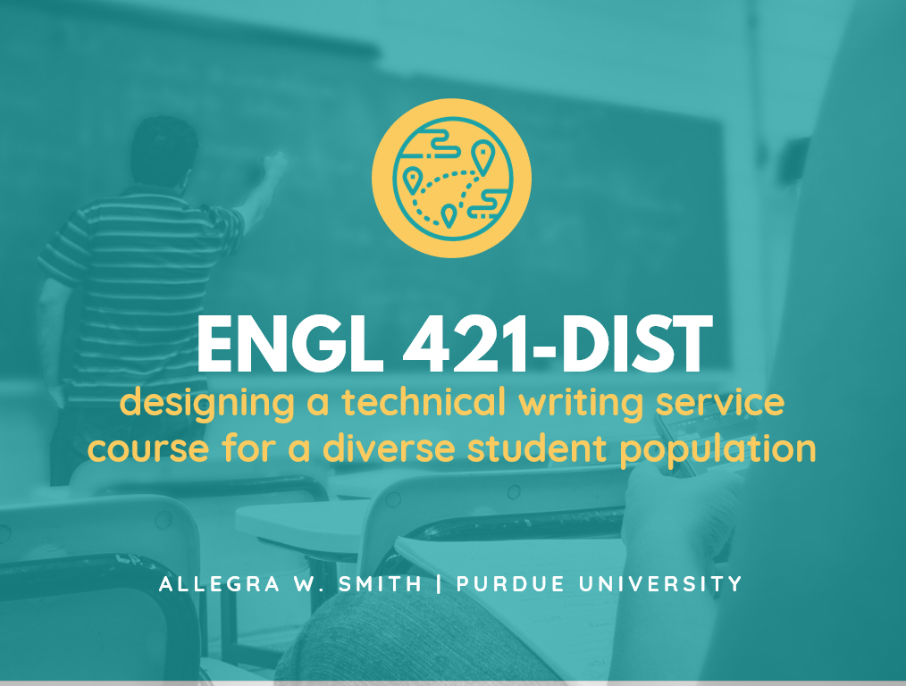 thumbnail for Allegra's teaching presentation on ENGL 421-DIST